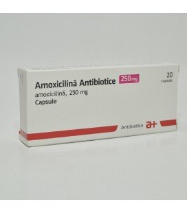 AMOXICILINA ANTIBIOTICE 250 mg X 20 CAPS