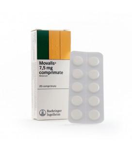 MOVALIS (R) 7,5 mg X 20 COMPR. 7,5mg