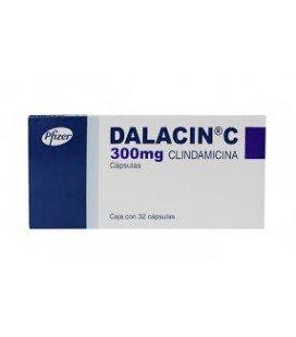 DALACIN C 300 mg X 16 CAPS. 300mg PFIZER