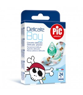 PIC Plasturi piele sensibila Delicate Boy x 24buc
