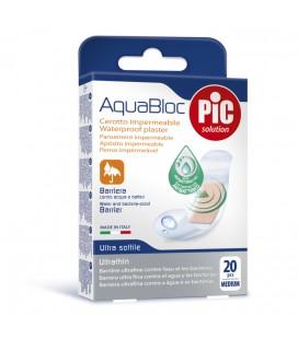 PIC Plasturi rezistenti la apa antibacterieni 19mm x 72mm x 20buc