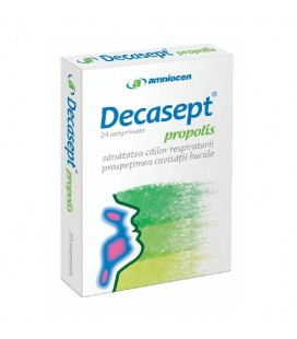 Decasept propolis x 24 cp cutie  AMNIOCEN