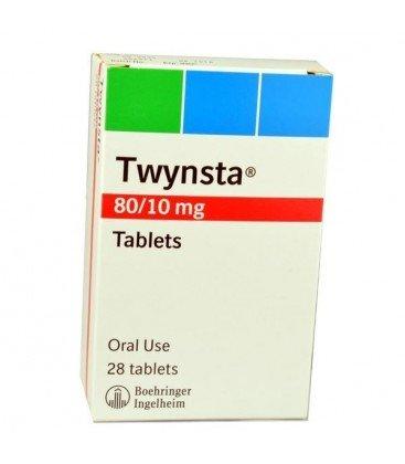 TWYNSTA 80 mg/10 mg X 28 COMPR. 80 mg/10 mg