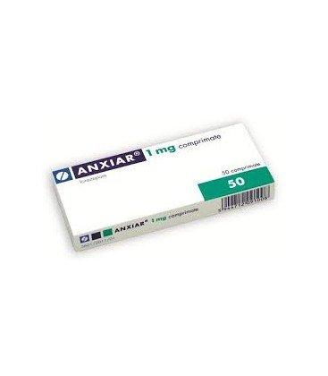 ANXIAR (R) 1 mg X 50 COMPR. 1 mg GEDEON RICHTER-RX
