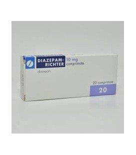 DIAZEPAM RICHTER 10 mg X 20 COMPR. 10mg GEDEON RICHTER-RX