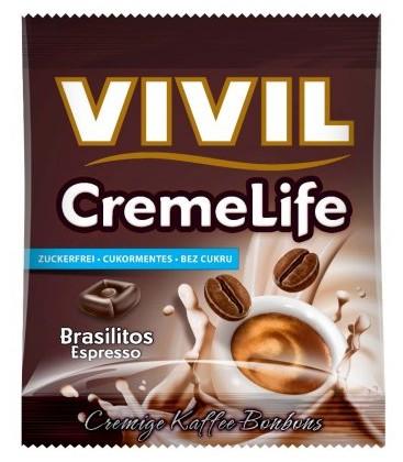VIVIL Creme Life Classic brasilitos espresso fara zahar x 110g