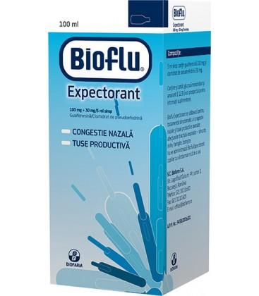 BIOFLU EXPECTORANT X 1 SIROP FARA CONCENTRATIE BIOFARM