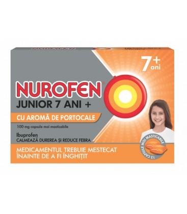 NUROFEN  JUNIOR 7+ ANI 100 mg X 12 CPS MOI