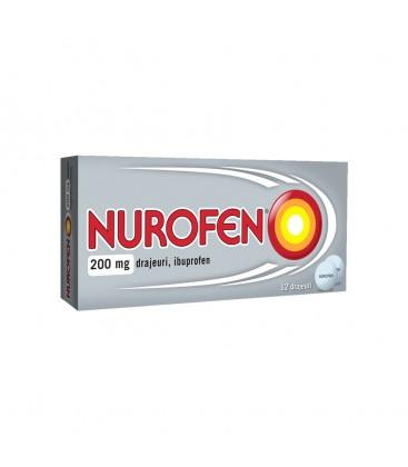 NUROFEN (R) 200 mg X 12 DRAJ.