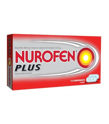 NUROFEN (R) PLUS X 12 COMPR.