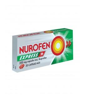 NUROFEN EXPRESS 200 mg x 20 CAPS. MOI