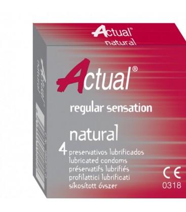 ACTUAL Prezervative Sensitive x 4buc