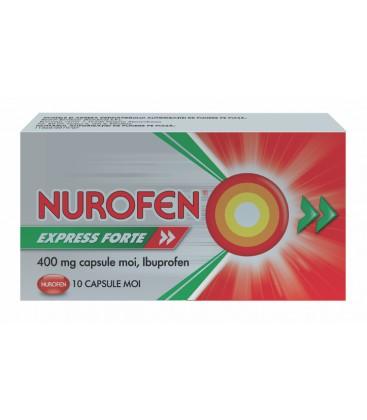 NUROFEN EXPRESS FORTE 400 mg X 10 CAPS. MOI