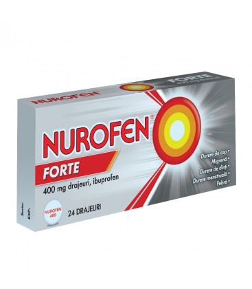 NUROFEN FORTE X 24 DRAJ. 400MG