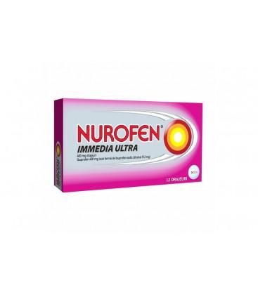NUROFEN IMMEDIA ULTRA 400 mg X 12 DRAJ.