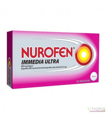 NUROFEN IMMEDIA ULTRA 400 mg X 24 DRAJ.