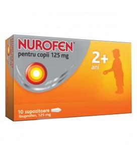 NUROFEN PENTRU COPII 125 mg X 10 SUPOZ.