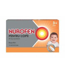 NUROFEN PENTRU COPII 60 mg X 10 SUPOZ.