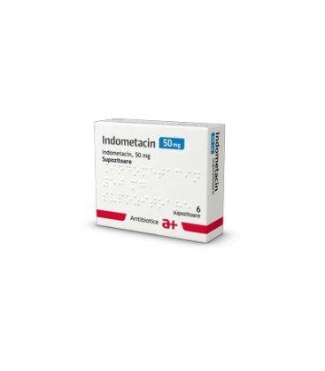 INDOMETACIN 50 mg X 6 SUPOZ