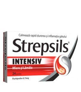 STREPSILS INTENSIV MIERE SI LAMAIE 8,75 mg X 24 PASTILE