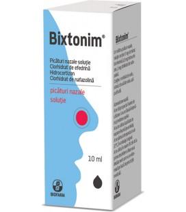BIXTONIM X 1 PIC. NAZALE-SOL. FARA CONCENTRATIE BIOFARM