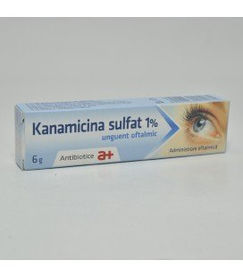 KANAMICINA SULFAT 1% X 6G UNG. OFT.