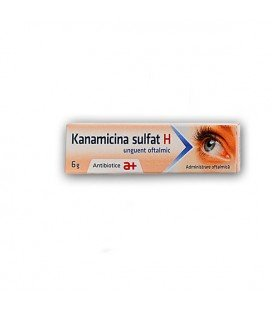 KANAMICINA SULFAT H X 6G UNG. OFT