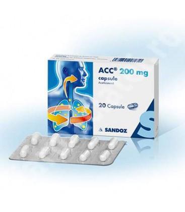 ACC 200 mg CAPSULE X 20 CAPS.