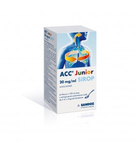ACC JUNIOR 20 mg/ml X 1 SIROP