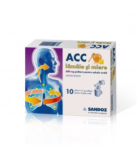 ACC LAMAIE SI MIERE 600 mg X 10 PULB. PT. SOL. ORALA