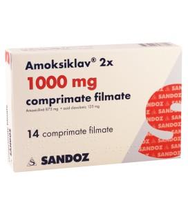 AMOKSIKLAV 1000 mg X 14 COMPR. FILM