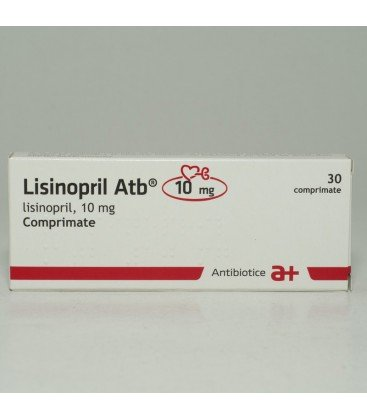 LISINOPRIL ATB 10 MG X 30 COMPR