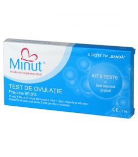 Test ovulatie x 5 teste+1gratuit MINUT