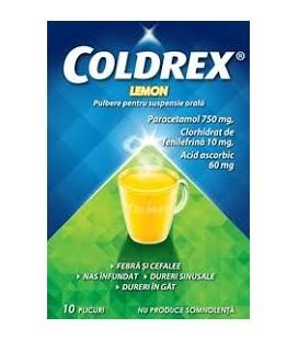 COLDREX LEMON X 10 PULB. PT. SUSP. ORALA