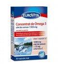 EUROVITA Omega 3 + Vit. D3 + Vit. E X 30 cps