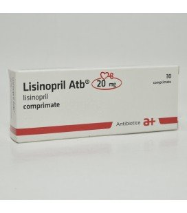 LISINOPRIL ATB 20 MG X 30 COMPR