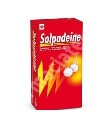 SOLPADEINE 500 mg/8 mg/30 mg X 12 COMPR. EFF.