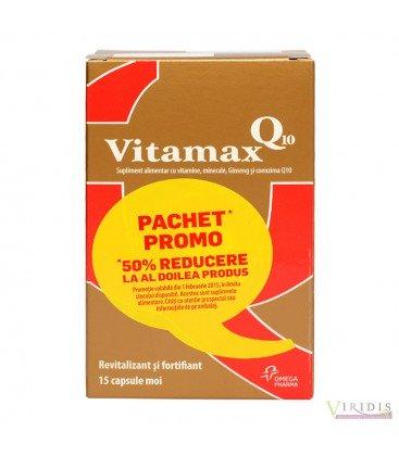 Vitamax Q10 x 15cps moi (1+1gratis)