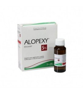 ALOPEXY 5% X 60ML SOL. CUT. PIERRE FABRE