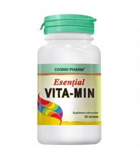 COSMOPHARM Esential vitamin x 30cp