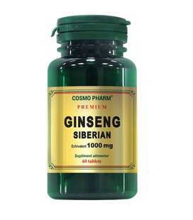 COSMOPHARM Ginseng siberian x 60cps