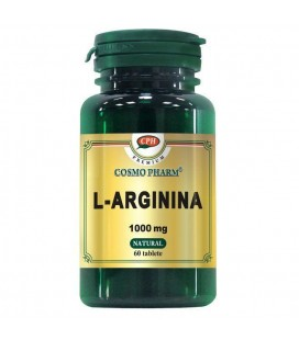 COSMOPHARM L-Arginina x 60 cp cutie  COSMOPHARM