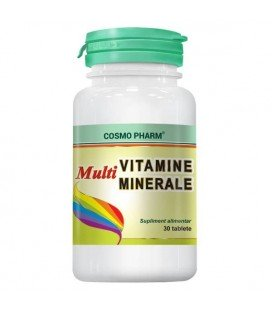 COSMOPHARM Multivitamine si minerale x 30cps CUTIE  COSMOPHARM