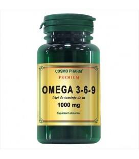 COSMOPHARM Omega 3-6-9 seminte de in x 60cp