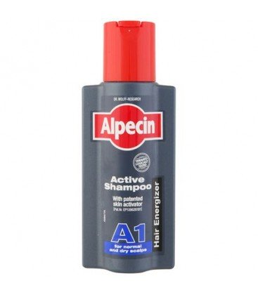 ALPECIN Sampon Activ A1 scalp normal sau uscat