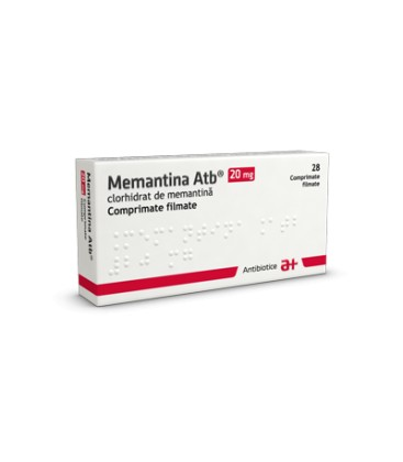MEMANTINA ATB 20 mg X 28 COMPR. FILM.