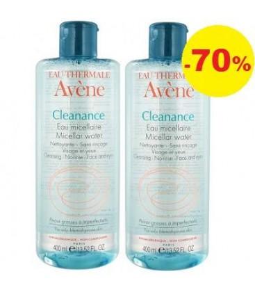 AVENE Cleanance apa micelara x 400ml 1+70% PIERRE FABRE