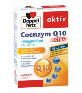 DOPPELHERZ Coenzima Q10 extra +Mg x 30 cp