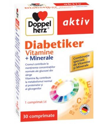 DOPPELHERZ Diabetiker vitamine x 30cp