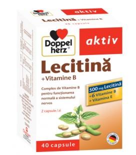 Lecitina+vitamina B6+vitamina E x 40cps